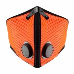 Maska antysmogowa RZ Mask M2 SAFETY ORANGE MESH