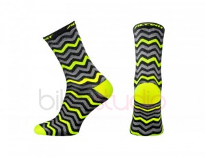 Skarpetki kolarskie ACCENT ZigZag long fluo