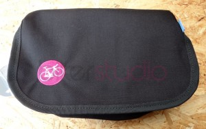 Hip Bag czarny bikerStudio